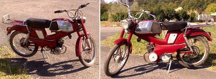 Mobylette motobecane sp 98 99 dep t vente 2 roues for Location garage moto