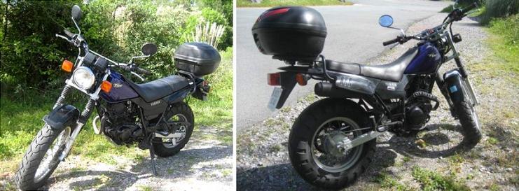 Moto yamaha 125 tw trail 2004 dep t vente 2 roues for Location garage moto